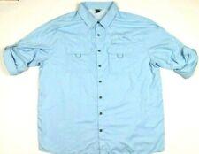 Field & Stream Men's Fishing Shirt Xxl Blue Vented Smart Cool 2Xl