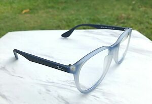 NWOT Ray-Ban Eyeglasses Blue Gradient Frames RB 7046 5601 (Demo Lens) 51-18-140