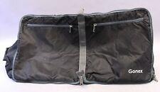 """Gonex 80L Packable Foldable Water-Resistant Duffle Bag MC7 Black2 14""""Hx27""""Wx11""""D"""