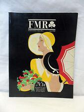 FMR Marzo 1985 n.31 Franco Maria Ricci Rivista Libro Arte