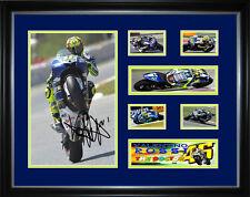 Valentino Rossi Signed Framed - Memorabilia - Music
