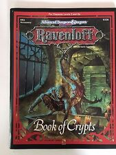 Dungeons and Dragons Ravenloft Book Of Crypts
