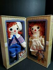 Raggedy Ann and Andy Vintage Asleep/Awake 0293/2400 Limited Edition Dolls