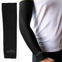 2x UV Protection Cooling Arm Sleeve Cover For Cycling Fishing Climbing Outdoors