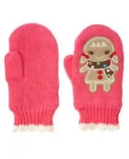 NWT Gymboree WINTER CHEER Pink Gingerbread Girl Mittens Gloves 0-12 Months