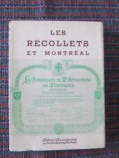 Les Récollets et Montréal 8 manifestations le 250e anniversaire Ville-Marie 1955