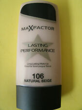 Max Factor Lasting Performance Liquid Foundation / NATURAL BEIGE #106