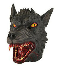 Masque de loup-garou très méchant avec sang deguisement gore horreur peur fetes