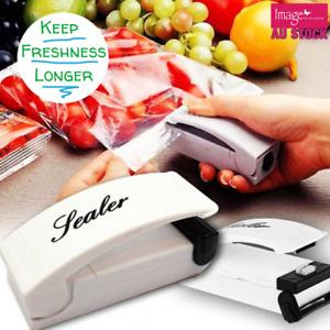 Mini Impulse Portable Plastic Food Sealing Machine Tool Bag Packing Heat Sealer