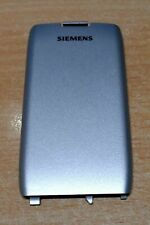 Neu:Original Siemens SL45 SL42 -SL45i Akkudeckel Akkufachdeckel Backcover silber