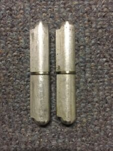 """8"""" Weld On Aluminum Hinge Marlboro Brand 1 pair = 2 Hinges! Free Shipping!"""