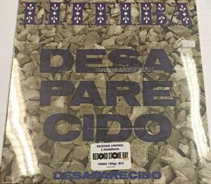 """Desaparecido (180 Gr. Vinile Blu 12"""" Numerato Limited Edt.) (Rsd 21) [lp_record]"""