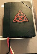 Custom Book Of Shadows CHARMED TV Replica 12x15 HUGE Leather Journal Wicca Prop