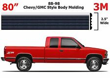 "80"" Roll Chrome Body Side Molding For 1988-1998 Chevrolet GMC Full Size Trucks"
