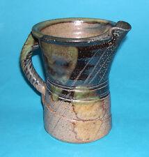 Jane Hamlyn Studio Pottery - Attractive Beautifully Designed Salt Glaze Jug.
