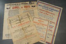 Affiches originales ,bons du trésors emprunts 14-18,première guerre mondial