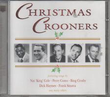 Christmas Crooners CD NEU Nat King Cole Perry Como Bing Crosby Frank Sinatra