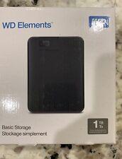 Western Digitial (WD) External Harddrive (HD) 1 Tb
