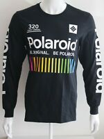 Polaroid Mens Graphic Tee Black Sizes S M L XL T-Shirt 100% Cotton