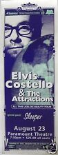 "ELVIS COSTELLO ""ALL THIS USELESS BEAUTY TOUR"" 1995 DENVER CONCERT POSTER"