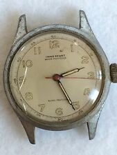 VINTAGE IMMERFORT WATCH Men's Swiss WWII  Military? RUNNING KEEPS GOOD TIME