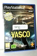 SING STAR VASCO GIOCO USATO OTTIMO STATO PS2 VERSIONE ITALIANA PAL GD1 39521