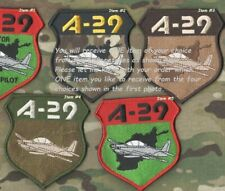 AFGHAN AAF A-29 SUPER TUCANO LIGHT ATTACK AIRCRAFT velkrö PATCH: Select ONE item