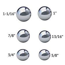 Assorted Coin Ring Making Steel Balls - Assortment Of 6 Balls