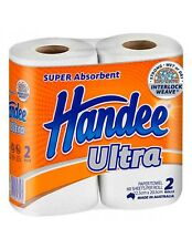 Handee Ultra, Pack of 2 Paper Towels Rolls - White