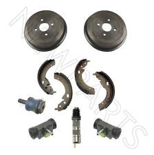 For BMW E10 2002tii Rear Drums &Shoes &Wheel &Slave Cylinder &Manual Trans Mount