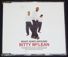 What Goes Around - Bitty McLean - CD Single inc Dedicated to the One I Love live