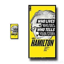 Hamilton Poster Broadway Musical Play 10 X 17 Alexander Lin Manuel Miranda Promo