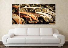 Large Volkswagen Beetle Bug Camper R32 VR6 G60 Wall Poster Art Picture Print