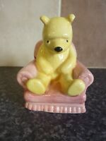 ROYAL DOULTON WP4 DISNEY WINNIE THE POOH IN THE ARMCHAIR FIGURINE VGC FOR AGE