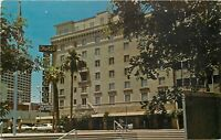 Chrome Postcard AZ I392 Phoenix San Carlos Hotel Central Avenue Street View