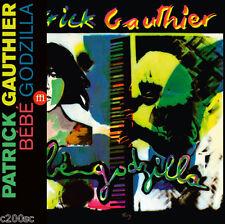 PATRICK GAUTHIER - BEBE GODZILLA, 2016 RECORD STORE DAY BLUE vinyl LP + OBI, NEW