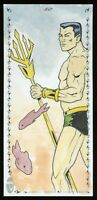 2019 Upper Deck Marvel Premier Namor the Sub-Mariner Sketch Card by Jack Purcell