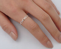 Cigar Band 3mm Ring Sterling Silver 925 Best Jewelry Thickness 0.9 mm Size 11