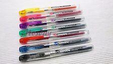 NEW!! 7 Colors Set Platinum Preppy SPN-100A Fountain Pen 0.3mm Fine Nib