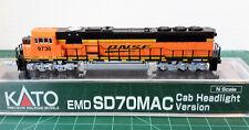 N Scale KATO SD70MAC 'BNSF Swoosh' DCC Ready Item #176-6320