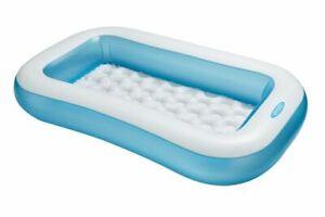 INTEX Baby Swimming Pool Rechteckig Planschbecken Kinderpool 166 x 100 x 28 cm