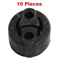 10PC Black Exhaust System Insulator Black Rubber Reduces Vibration FitHonda Ford