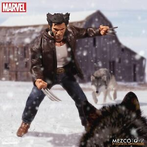 """One: 12 Collective Marvel LOGAN 6"""" Action Figure Mezco Wolverine 1/12 IN STOCK"""