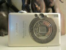 Canon PowerShot Digital ELPH SD400 / Digital IXUS 50 5.0MP Digital Camera,silver