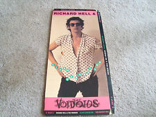 Richard Hell & The Voidoids CD Long Box Only - No Disc - No CD