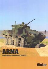OTOKAR ARMA 8x8 2015 TURKISH ARMY MILITARY BROCHURE PROSPEKT FOLDER