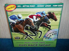 HOST YOUR OWN DVD RACE NIGHT - PLACE YOUR BETS - AGES 14+ - NEW & SEALED GAME