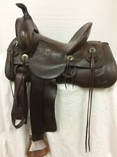 """Miles City 14"""" Collector/Vintage Western Saddle #404"""