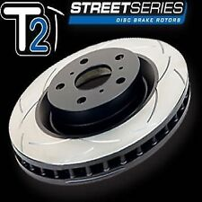2x DBA DBA2249S 4X4 Survival Street T2 SLOTTED ROTOR FOR Audi Q7 VW Tourage REAR