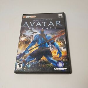 James Cameron's Avatar The Game PC DVD-ROM Ubisoft 2009 Complete in Box